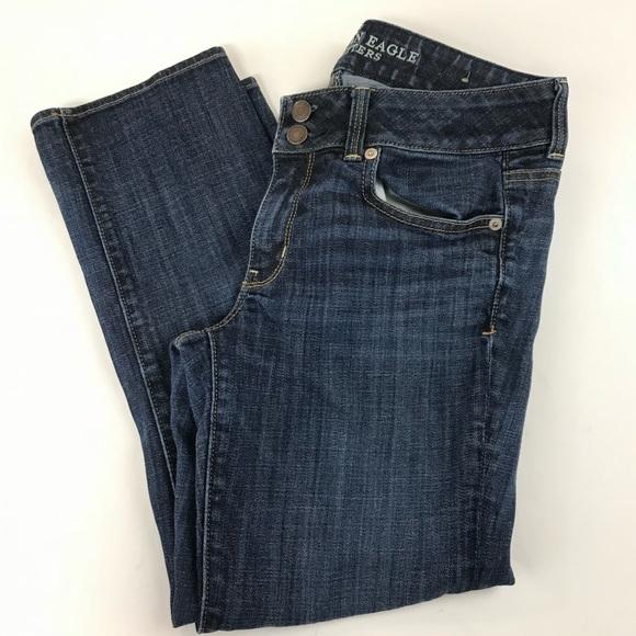 American Eagle Outfitters Denim - AEO American Eagle Jeans 8 Regular Artist Crop